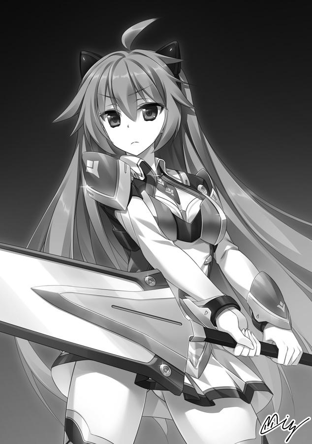 銀閃の戦乙女と封門の姫 外伝挿絵その2