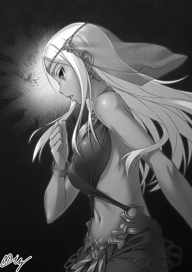 銀閃の戦乙女と封門の姫3巻挿絵その1